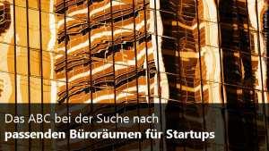 Büroräume für Startups