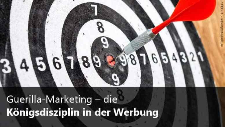 Guerilla-Marketig Werbung
