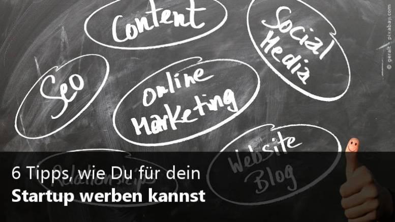 Startup Werbung