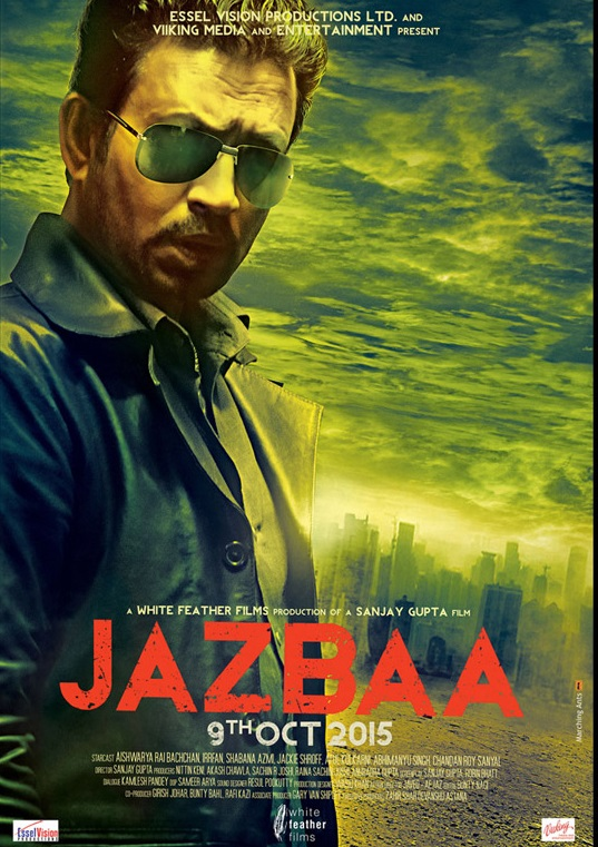 First Look Of Irrfan Khan In Jazbaa Hindi Film