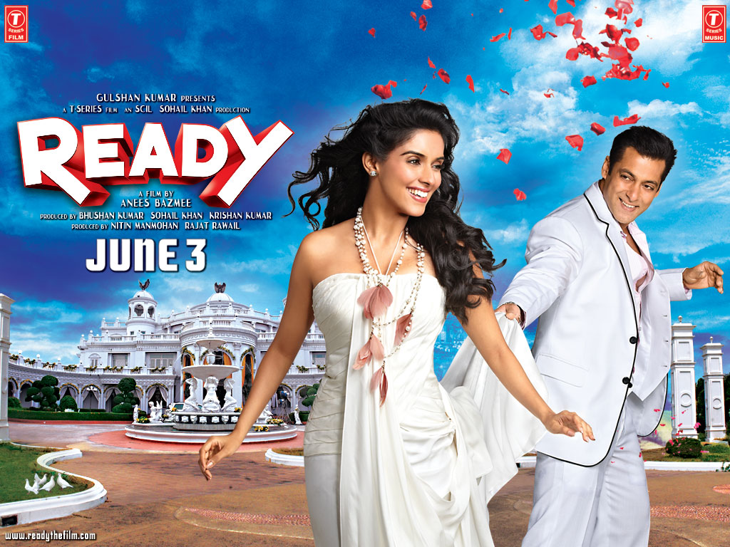 Ready Movie Poster Salman Khan And Asin