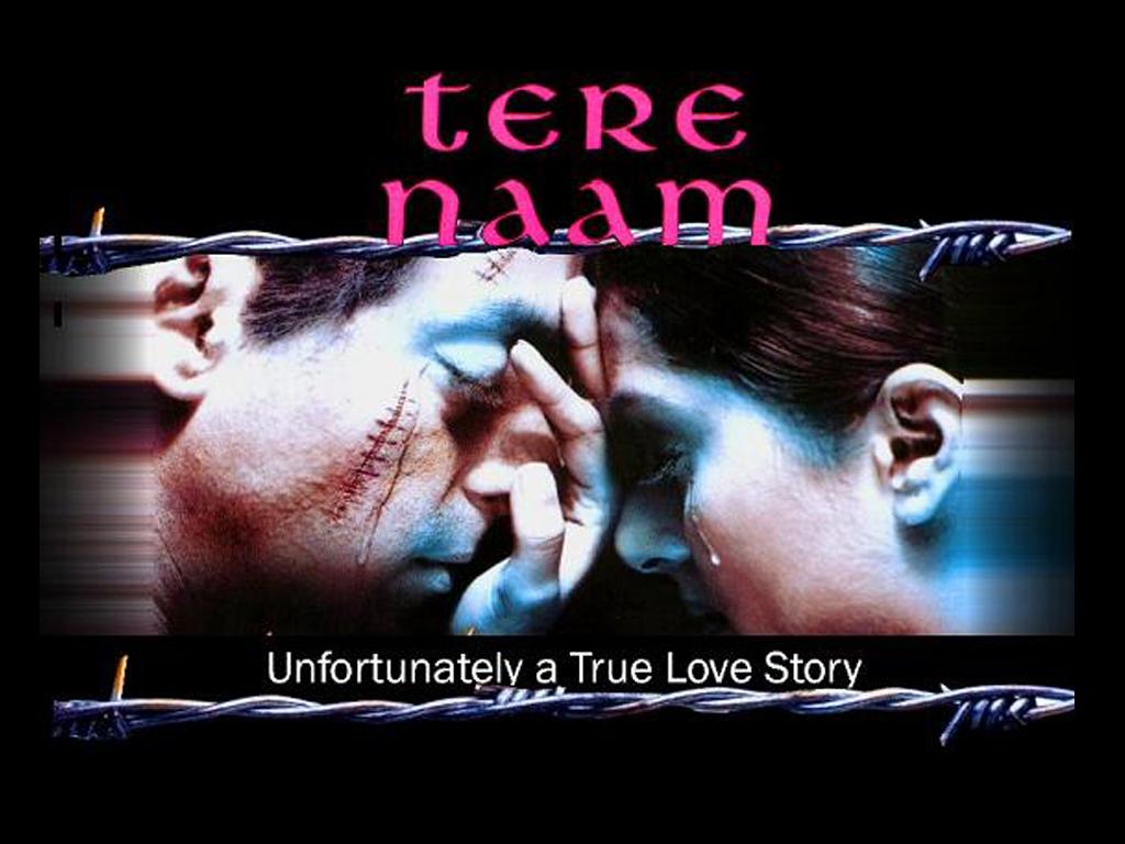 Tere Naam Movie Poster Salman Khan, Bhumika Chawla