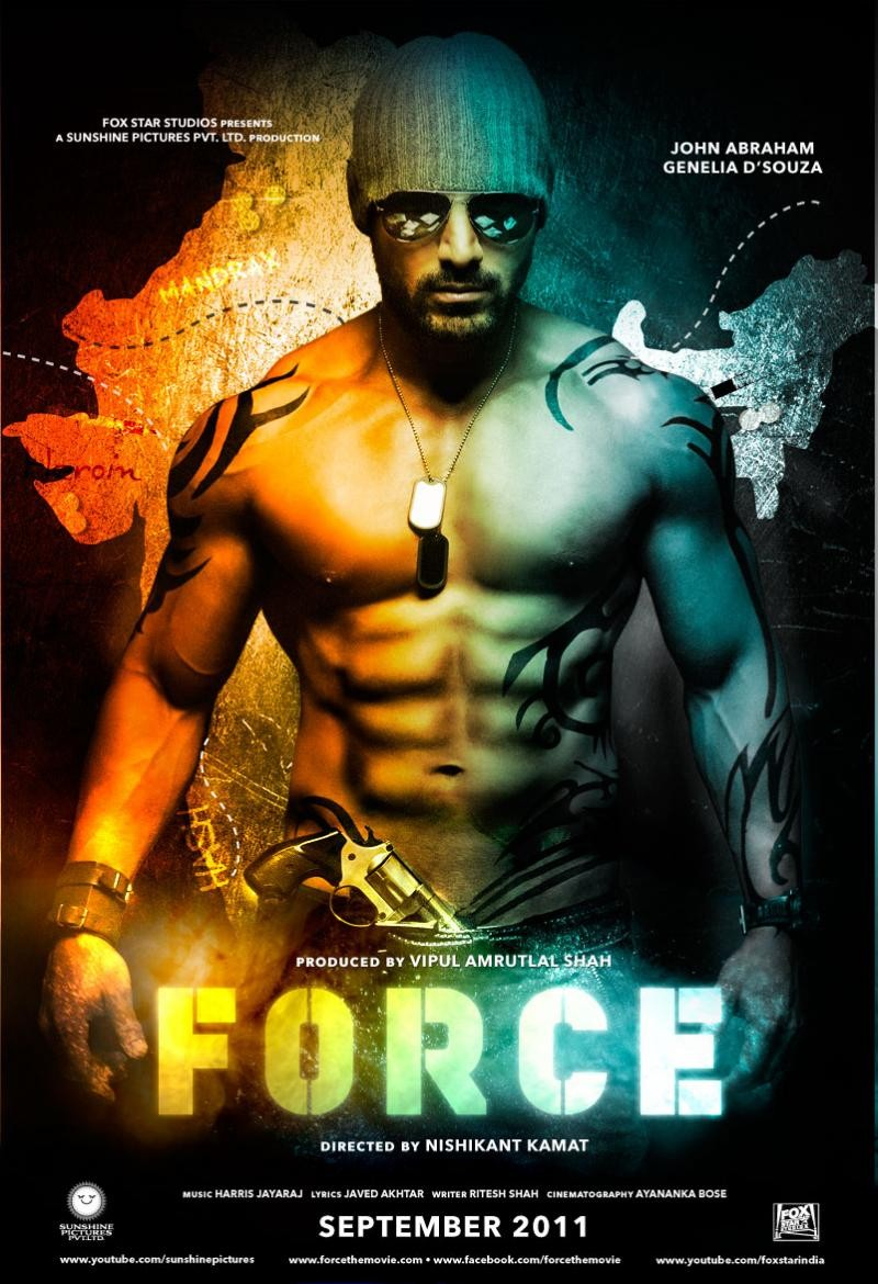 Force Movie Poster John Abraham