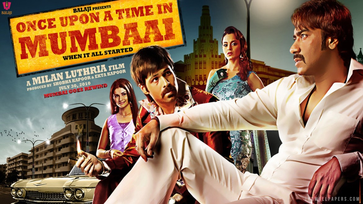 Once Upon A Time In Mumbaai Movie Poster Ajay Devgan Emraan Hashmi
