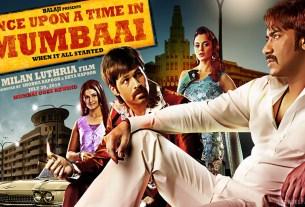 Once Upon A Time In Mumbaai Movie Poster Ajay Devgan Emraan Hashmi