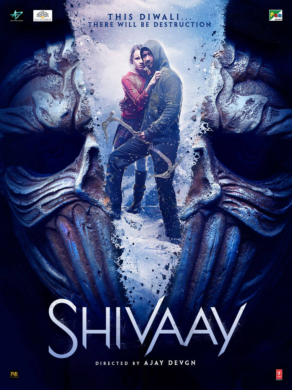Shivaay Movie Poster Ajay Devgan Full HD Wallpaper