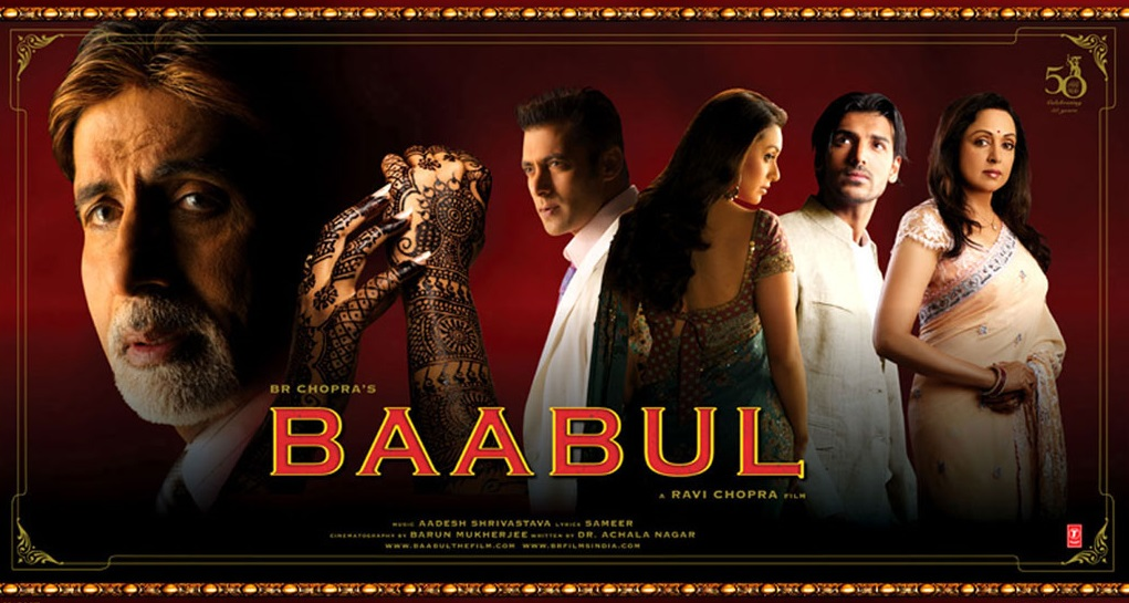 Baabul Movie Dialogues (Complete List)