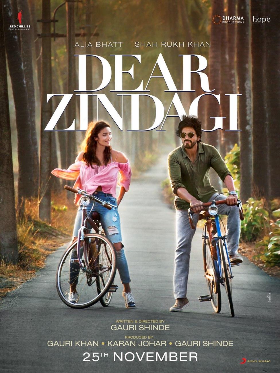 Dear Zindagi Movie Dialogues (Complete List)