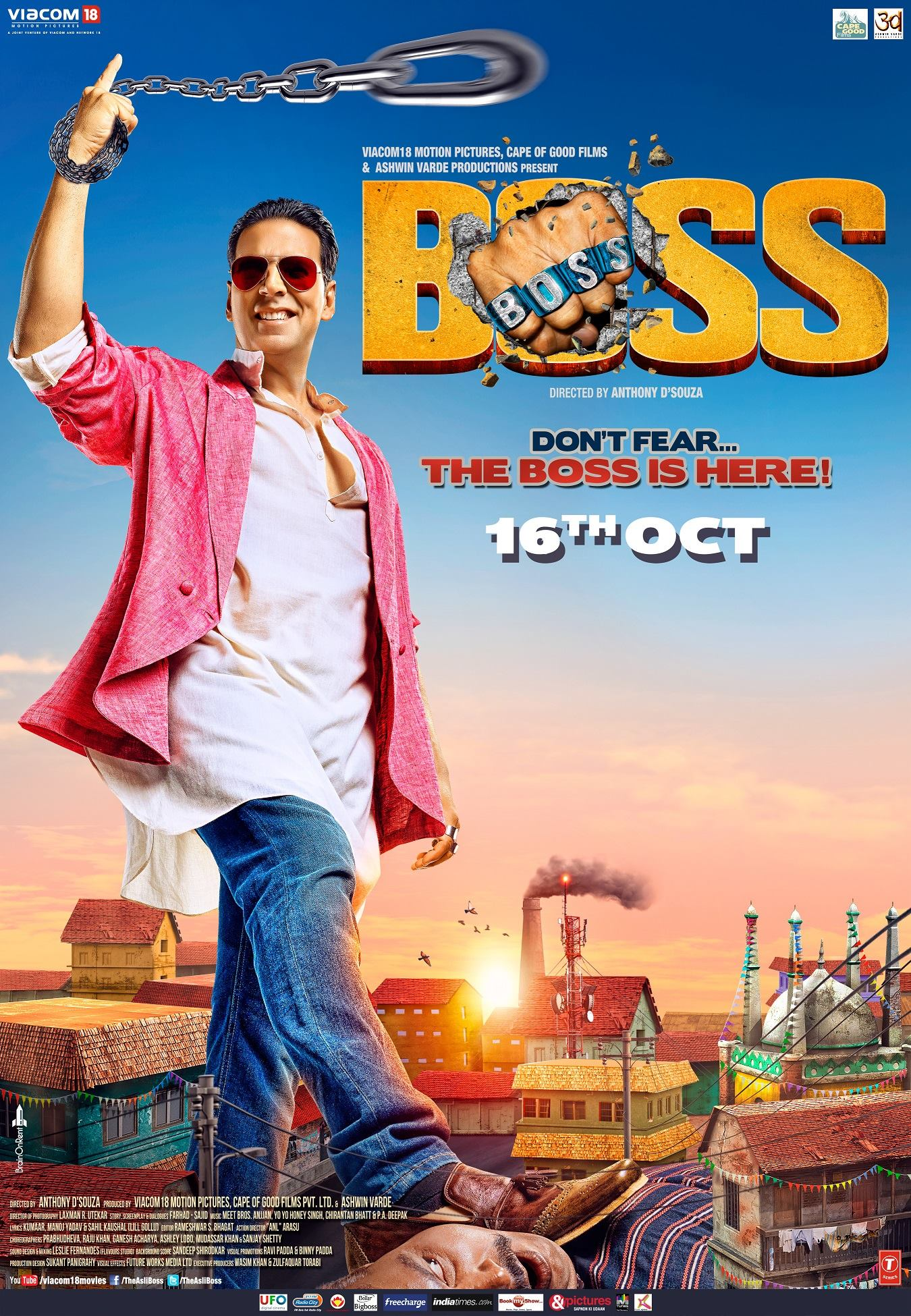 Boss Movie Poster HD Akshay Kumar