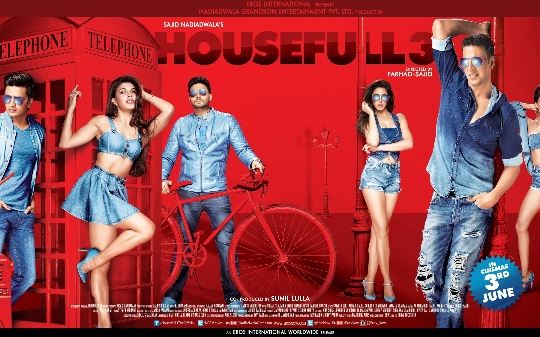 Housefull 3 Movie Poster - Full HD