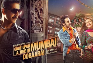 Once Upon A Time In Mumbai Dobaara MOvie Dialogues Poster HD Akshay Kumar Sonakshi Sinha Imran Khan