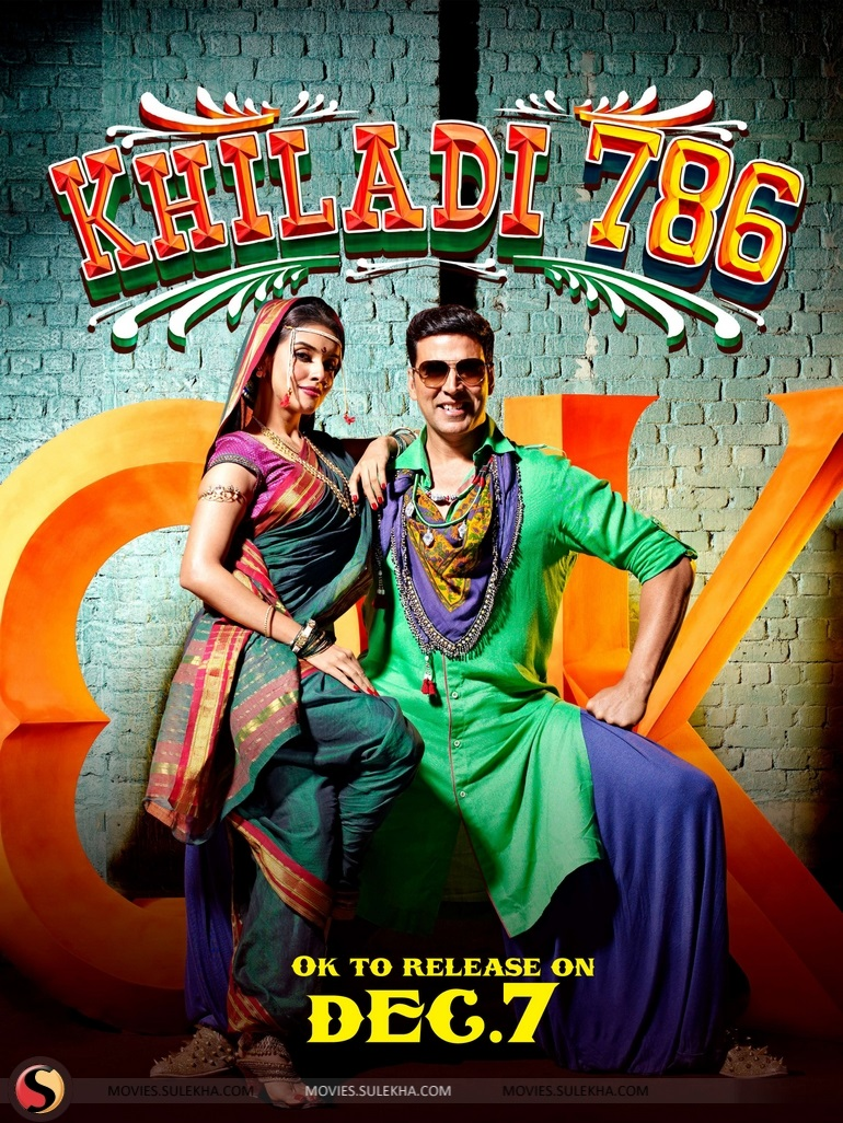 Khiladi 786 Movie Poster HD Akshay Kumar And Asin