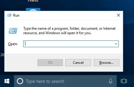 How To Open Run Command Window Using Keyboard Shortcut
