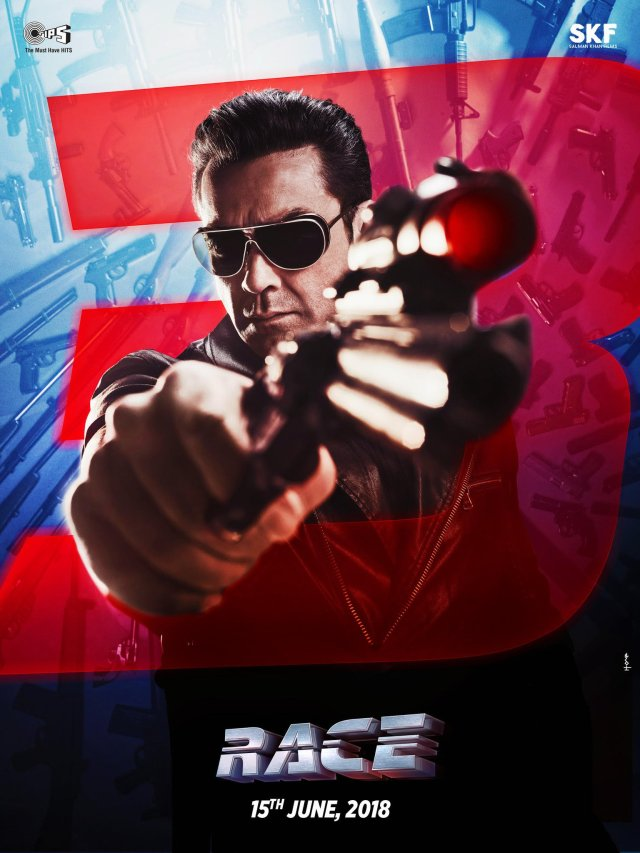 Bobby Deol as Yash - The Main Man - Race 3 Poster