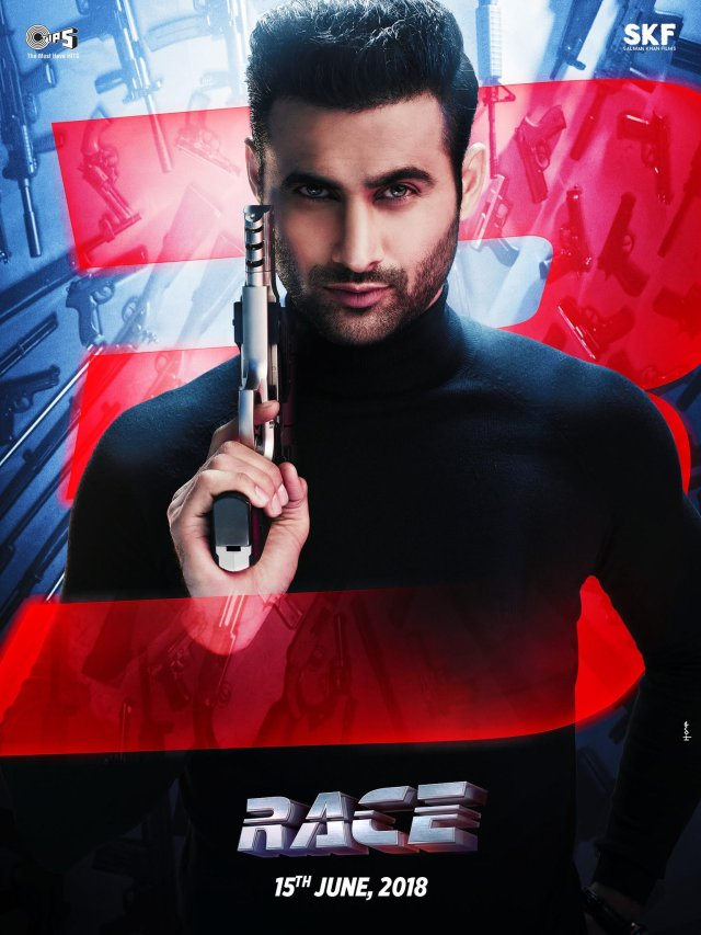 Freddy Daruwala as Rana - Bad is an Understatement - Race 3 Poster