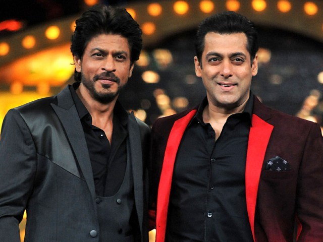 Salman Khan and Shah Rukh Khan