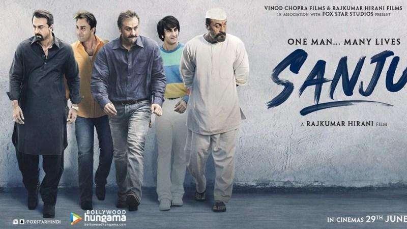 Sanju Movie Poster - Ranbir Kapoor