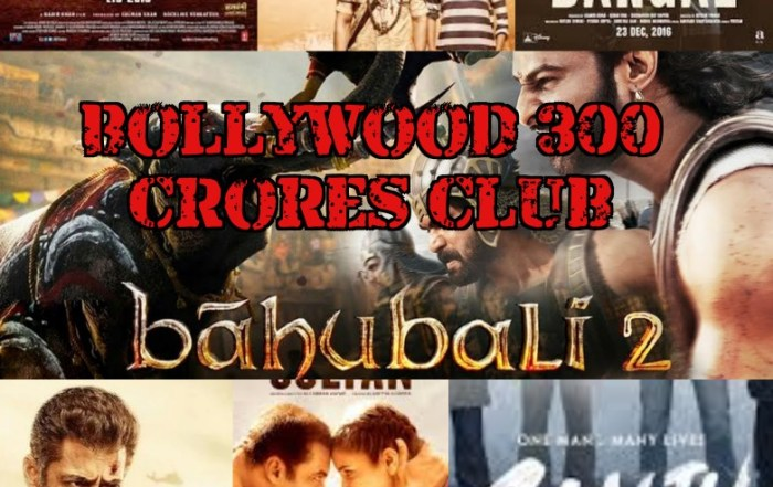 Bollywood 300 Crore Club - Box Office Collection
