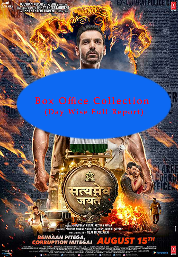 Satyameva Jayate Box office Collection (Day Wise Full Report)