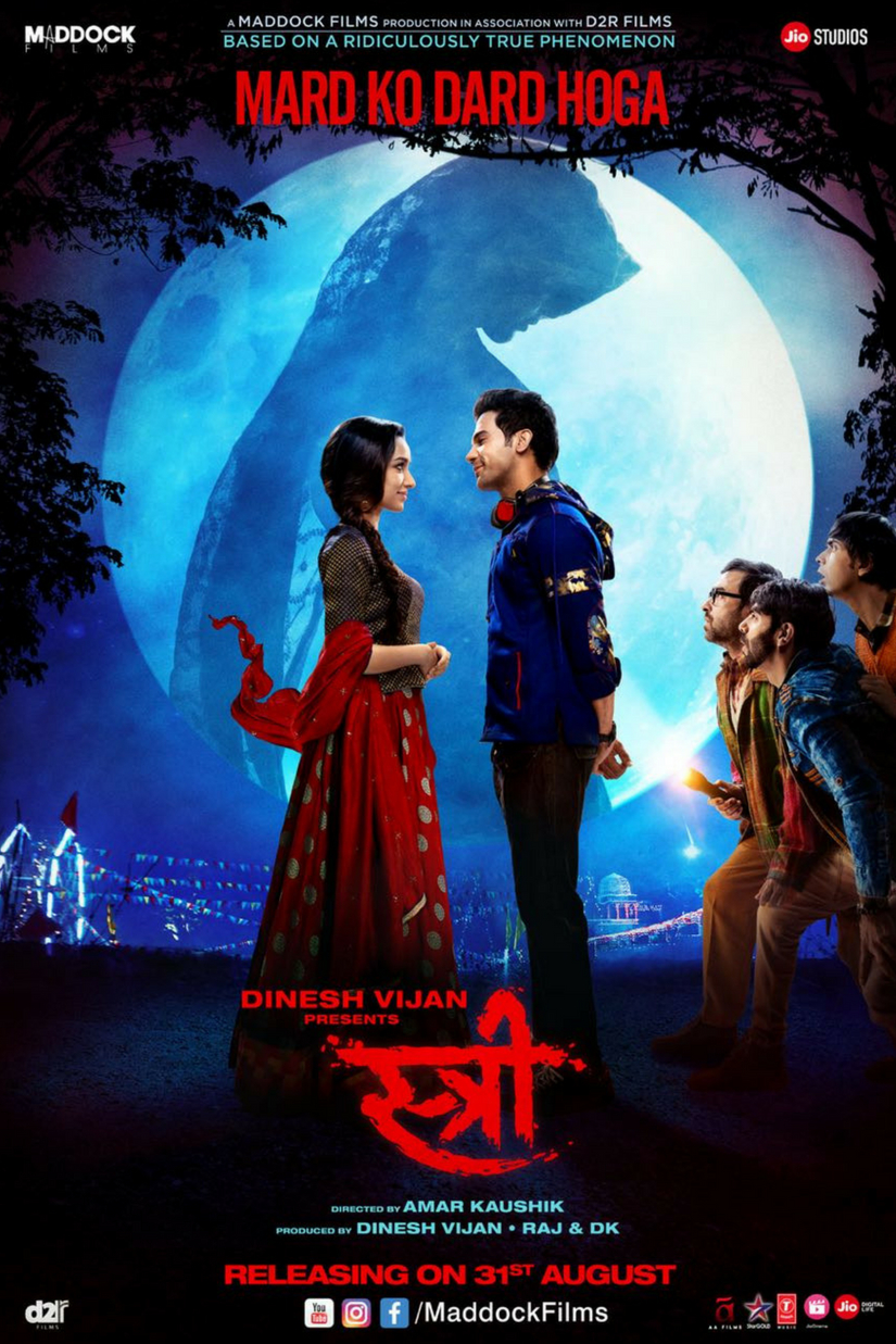 Stree Movie Dialogues - Full HD Poster