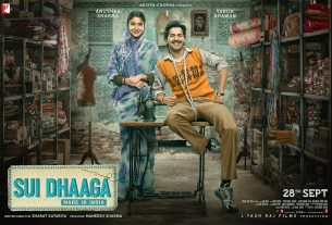 Sui Dhaaga Movie Dialogues Poster Varun Dhawan Anushka Sharma Full HD Wallpaper