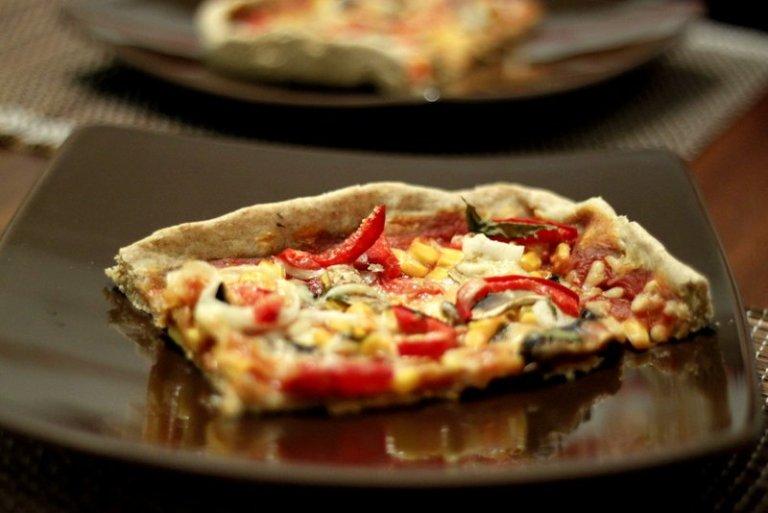 Na cozinha – Pizza caseira