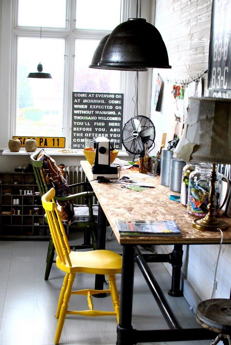 Inspiração – decoração com amarelo