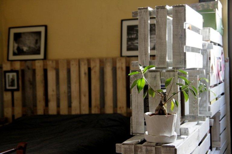 DIY – Móvel /Divisória com Caixas da Fruta