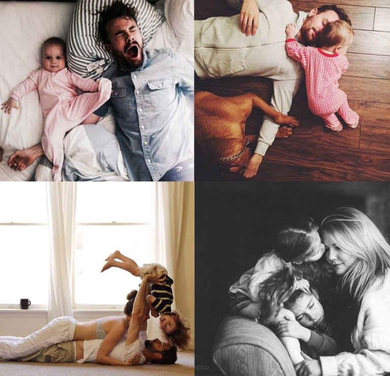 Inspiração – Fotos em família