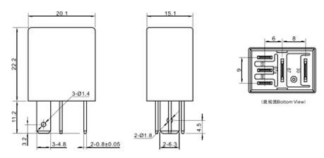China 4 Pin Relay Wiring Diagram Horn Manufacturers and