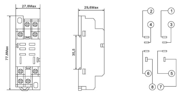 China 8 Pin Relay Base Diagram Manufacturers and Suppliers