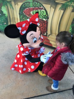 Minnie Mouse disneyland parijs