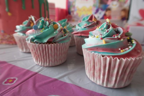 regenboog cupcakes my little pony