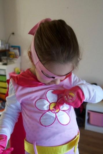 Chloe's superheld verkleedset