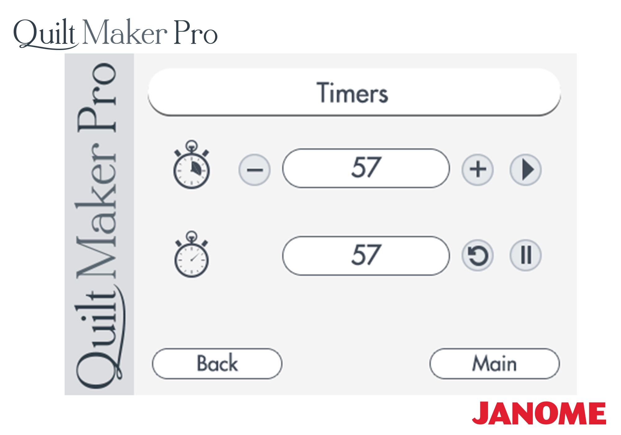 Janome Quilt Maker Pro 18 Long-arm Quilting Machine