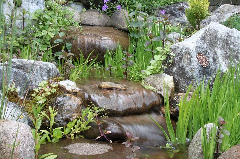Wasserspiele fr den Garten Ideen von Meister  Meister