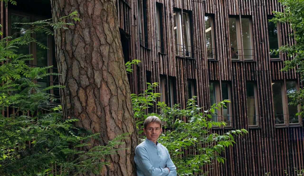 Klimaforscher Stefan Rahmstorf am Potsdam Institut für Klimafolgenforschung