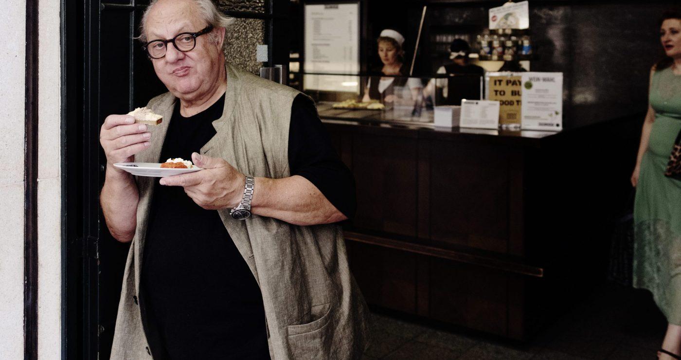 Der Koch und Wirt Vincent Klink, fotografiert von Gerald von Foris