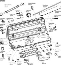 spare parts for original jaeger double violin case prestige line [ 1000 x 993 Pixel ]