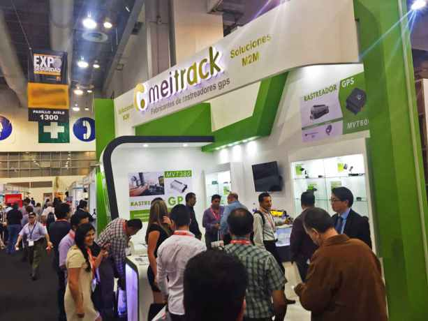 gps trackers Expo Seguridad Mexico