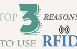 3 REASONS TO USE RFID