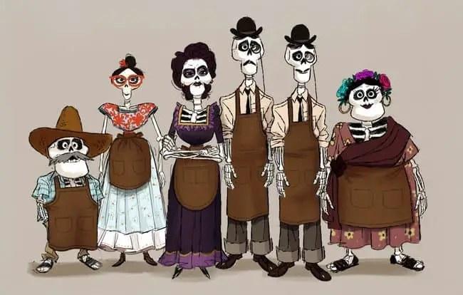 Checa Algunos Secretos Sobre Los Esqueletos De Coco De