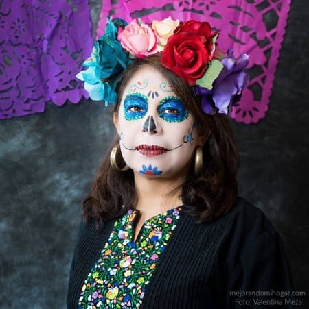 Maquillaje De Catrina Para Día De Los Muertos Mejorando Mi Hogar