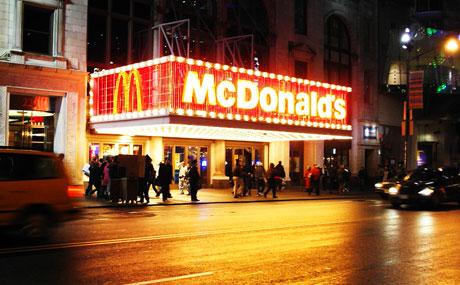 Los restaurantes de Times Square donde celebrar la Nochevieja