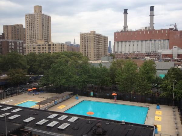 Las piscinas pblicas y gratuitas de Nueva York