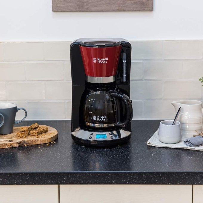 Cafetera de filtro y goteo Russell Hobbs Colours Plus