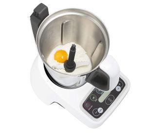 Robot de cocina Moulinex Volupta cocinando con recetas.