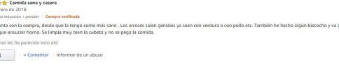 Comentarios Bosch Autocook Pro