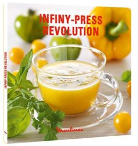 Libro de recetas Moulinex Infiny Press ZU500A