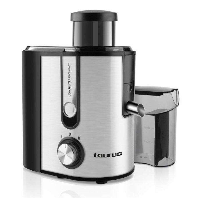 Extractor de zumos Taurus Compact Pro de centrifugado y 500W